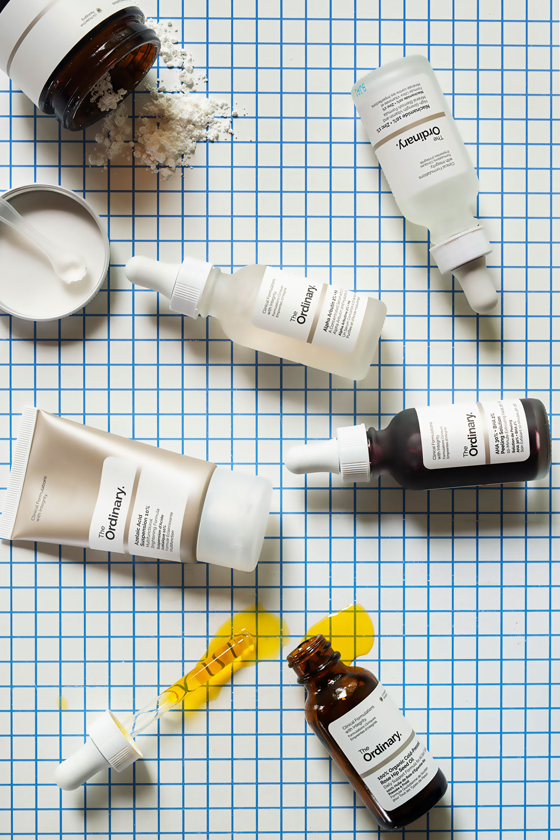 The Ordinary-produkter