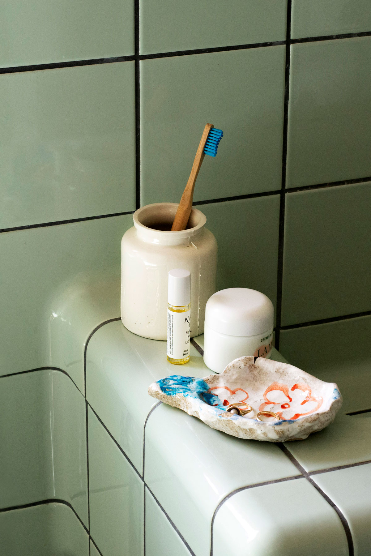 Keramikk på badet